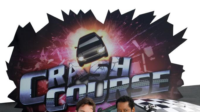 "Orlando Jones and Dan Cortese host ""Crash Course."""