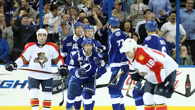 NHL: Florida Panthers at Tampa Bay Lightning