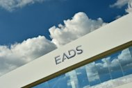 The logo of European aerospace giant EADS at the International Air Show ILA in Schoenefeld near Berlin in September 2012. The MDAX is made up of 50 mid-cap stocks, while the DAX comprises the shares of Germany's top 30 companies and its market capitalisation is four times as large as its smaller sister index.