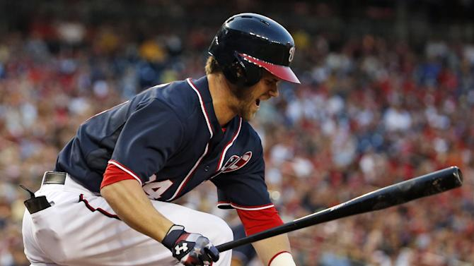 Harper, LaRoche, Nats top Pirates, 4th win in row