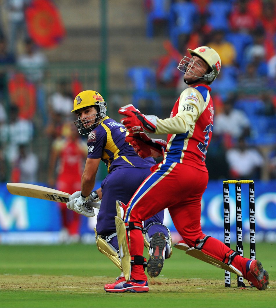Kolkata Knight Riders batsman Ryan Ten D
