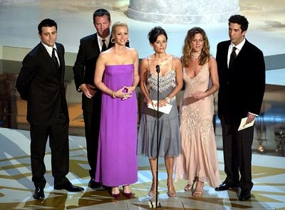Matt LeBlanc, Matthew Perry, Lisa Kudrow, Courteney Cox, Jennifer Aniston and David Schwimmer