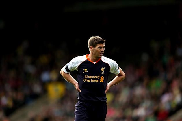 Steven Gerrard has not given up hope of winning the Premier League with Liverpool