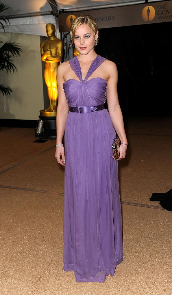 2009 AMPAS Inaugural Governors Awards Abbie Cornish