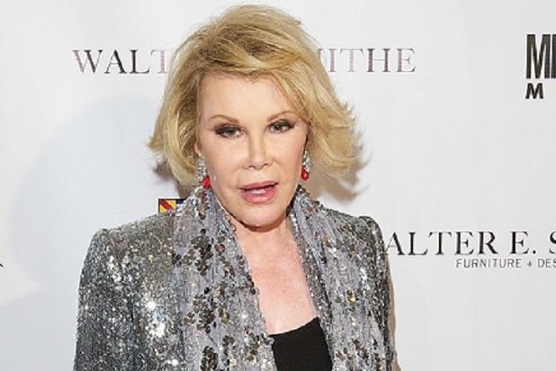 Joan Rivers' Daughter Slaps Mother's Endoscopy Clinic With Lawsuit (Report)
