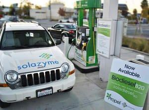 Propel Fuels & Solazyme Deliver World's First Consumer Access to Algae-Based Fuel