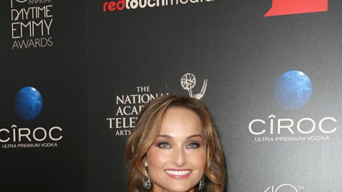 IMAGE DISTRIBUTED FOR EFG - Giada De Laurentiis seen at The 40th Annual Daytime Emmys Awards Redtouch Red Carpet, on Sunday, June 16, 2013 in Beverly Hills, Calif. (Photo by Ryan Miller/Invision for EFG/AP Images)