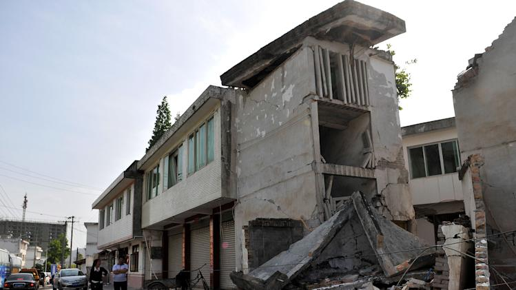 Strong Earthquake Hits Sichuan Provine In China
