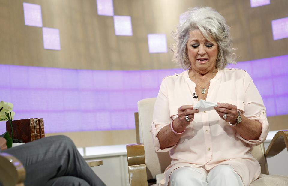 Paula Deen dropped by Wal-Mart after 'Today' tears