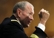 A bill aimed at protecting the United States from cyber attacks failed to advance in the US Senate. General Martin Dempsey, chairman of the Joint Chiefs of Staff, pictured in July 2012, said the bill was needed to protect infrastructure critical to safeguarding national defense