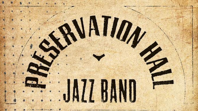 "This box set cover image released by Columbia/Legacy shows the ""Preservation Hall Jazz Band 50th Anniversary Collection.""  (AP Photo/Columbia/Legacy)"