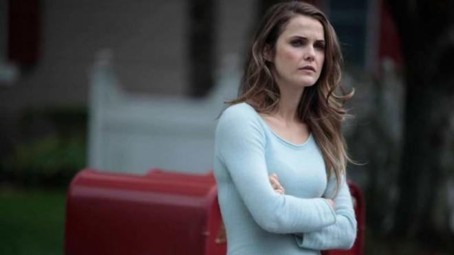 Felicity no more: Keri Russell plays a deeply embedded Soviet agent in The Americans.