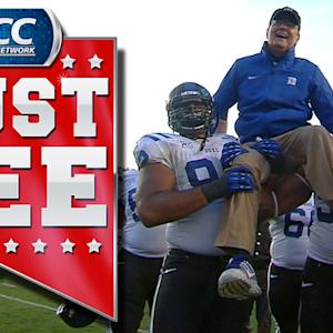 Duke Wins Coastal Division Title In Win Over Rival | ACC Must See Moment of the Year Candidate
