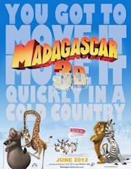 'Madagascar 3: Europe's Most Wanted' was the most wanted film worldwide this weekend