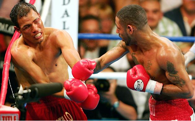 12. Diego Corrales TKO10 Jose Luis Castillo, May 7, 2005 – The first nine rounds were incredible, but the 10th is one of the all-time greats. Castillo knocked Corrales down twice early in the round an