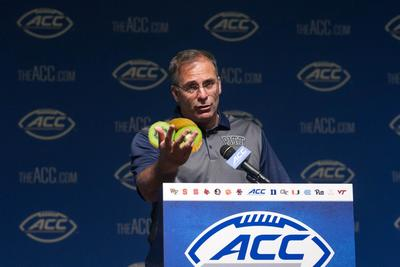 Pitt coach remembers the time he almost killed a coworker with fruit
