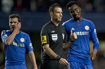 Chelsea midfielder Mikel given three-game ban for part in Clattenburg row