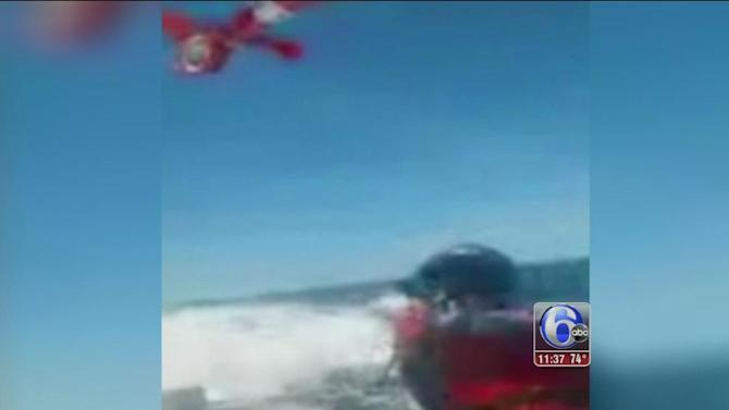 5 people pulled from sinking boat off Cape May