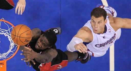 Clippers hand Raptors 8th straight loss 103-91