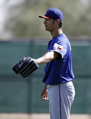 Rangers officially tab Darvish opening day starter