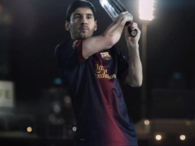 Messi masters cricket