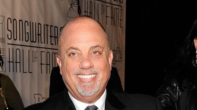 Billy Joel Hall Of Fame Crmny