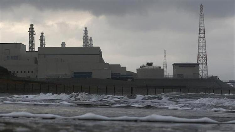 Tokyo Electric Power Co.'s Kashiwazaki Kariwa nuclear power plant, which is the world's biggest, is seen from a seaside in Kashiwazaki