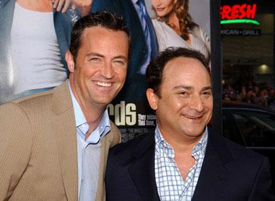 Matthew Perry and Kevin Pollak at the world premiere of Warner Brothers' The Whole Ten Yards