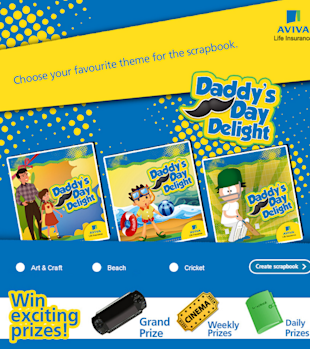 9 Cool Fathers Day Facebook Campaigns 2013 image Aviva daddys day delight 001