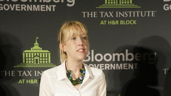 Ms. Laura Minzer, Executive Director of the Health Care Council at the Illinois Chamber of Commerce, speaks during an event on the tax implications of health care reform on in Springfield, Ill., Wednesday, April 10, 2013. The event is part of a multi-city engagement tour hosted by The Tax Institute at H&R Block and Bloomberg Government examining the effects of the Affordable Care Act on consumers, small businesses and the uninsured.  (AJ Mast / AP Images for The Tax Institute at H&R Block)