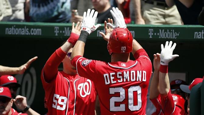 Wilson Ramos drives in 4, Nationals beat Mets 6-3
