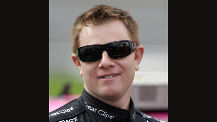 FILE - This Oct. 16, 2009, file photo, shows driver Jason Leffler at Lowe's Motor Speedway in Concord, N.C. Leffler died after an accident Wednesday, June 12, 2013, at a dirt car event at Bridgeport Speedway. The 37-year-old Leffler, a two-time winner on the Nationwide Series, was pronounced dead shortly after 9 p.m., New Jersey State Police said. (AP Photo/Bob Jordan, File)