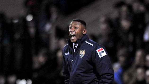 Chris Kiwomya, pictured, hailed Francois Zoko's contribution after he scored twice as Notts County beat Bury 4-1
