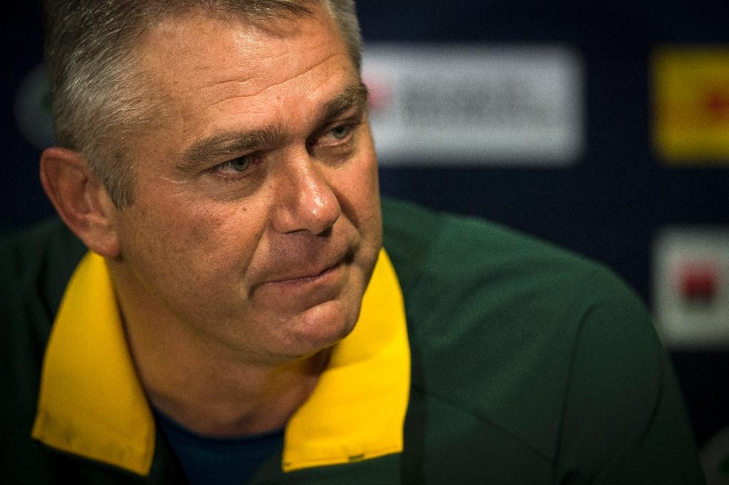 Meyer just happy to avoid Japan in Rugby World Cup quarter-finals