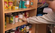 PM Meets Families Facing Poverty At Food Bank