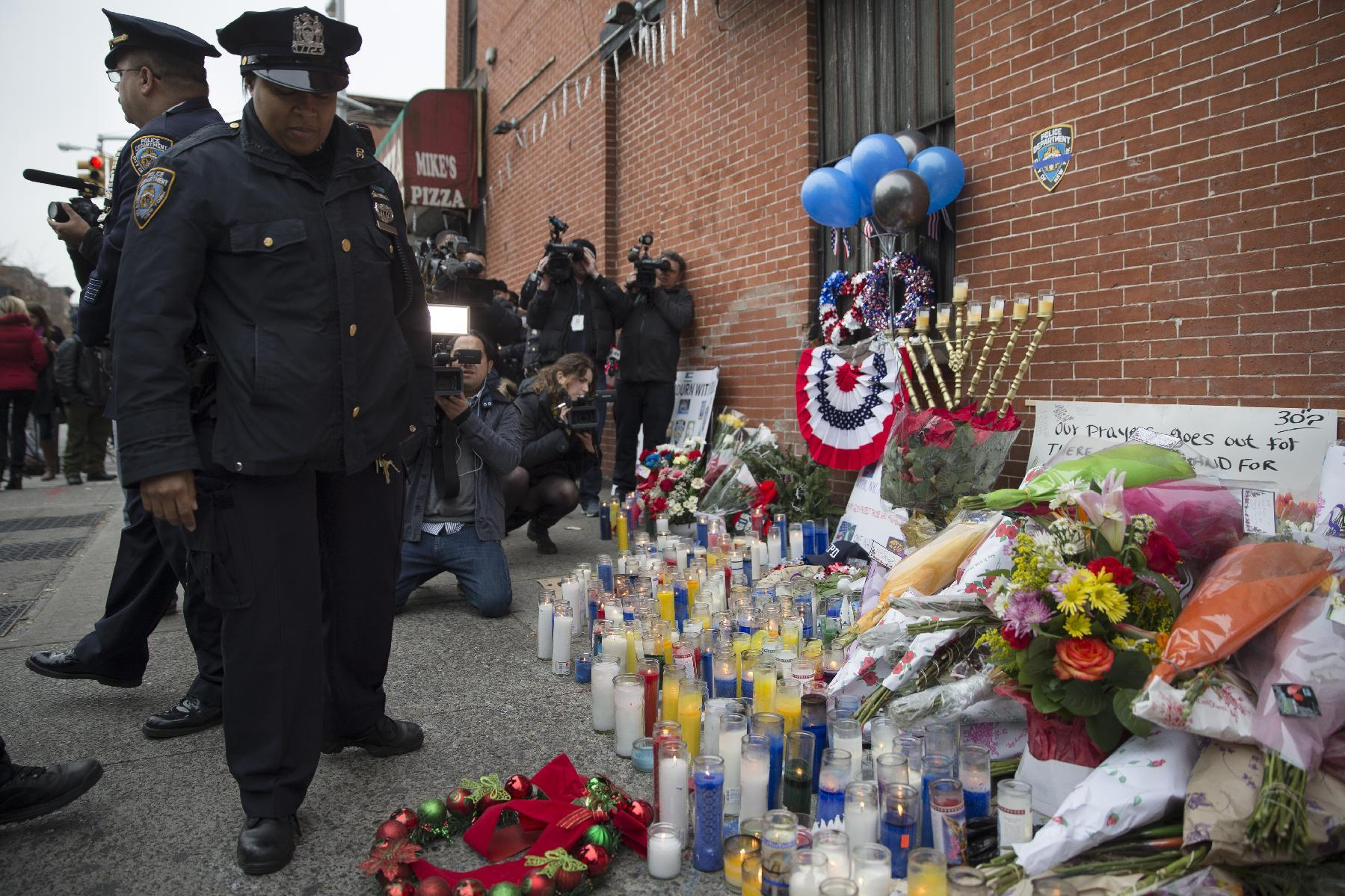Key developments in the case of slain NYPD officers