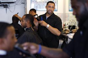 Dorsey Jackson cuts hair at his establishment Jackson's …