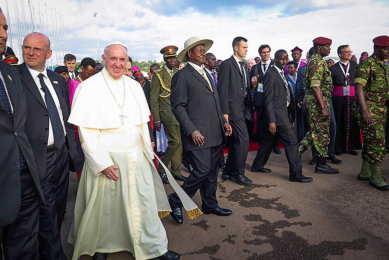 Pope Francis Loves Uganda but Didn't Speak Out to Save LGBT Lives