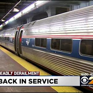 Amtrak Service Resumes Between Philadelphia And NYC