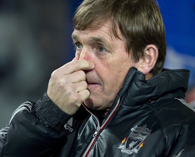 Liverpool's Scottish Manager Kenny Dalglish Gestures Ahead Of The English Premier League Football Match Between Queens AFP/Getty Images