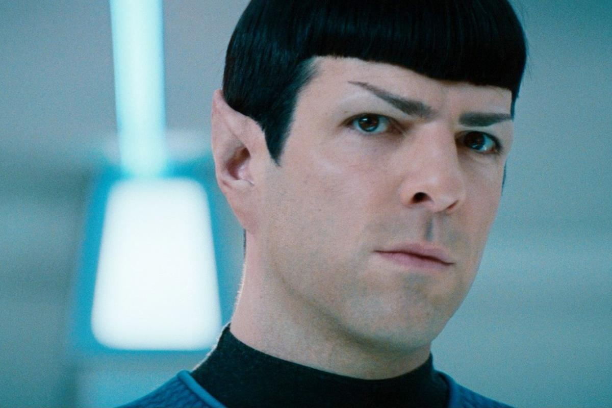 Behold! Zachary Quinto as Spock giving 'Blue Steel' face in an Instagram selfie