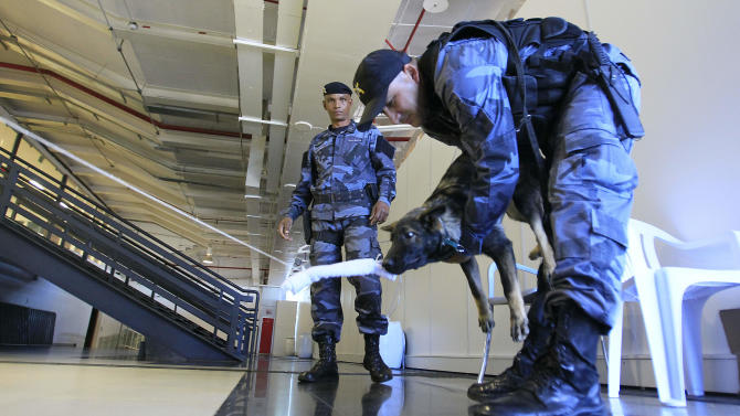 Crime doubts persist in Brazil ahead of events