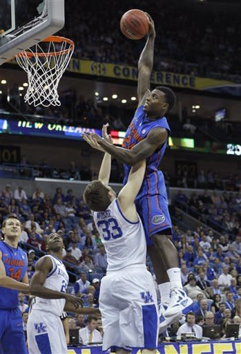 UK moves to SEC final with 74-71 win over Fla