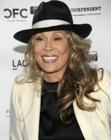 FILE - In this April 17, 2009 file photo, actress Faye Dunaway arrives at a tribute event and screening for director Norman Jewison at the Los Angeles County Museum of Art in Los Angeles. Dunaway is moving on from a fight with a landlord over a New York apartment _ by moving out. The New York Times reported Wednesday, Nov. 23, 2011, the &quot;Bonnie & Clyde&quot; and &quot;Chinatown&quot; actress agreed this month to give up her rent-stabilized, $1,048-a-month Manhattan apartment. The paper says an agreement filed last week gave her until this past Monday to move out. Her landlord&#39;s lawyer told the paper she has. (AP Photo/Dan Steinberg, file)
