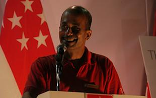 SDP candidate Vincent Wijeysingha said he has no other agenda other than to champion the concerns faced by Singaporeans. (Yahoo! photo/ Faris Mokhtar)