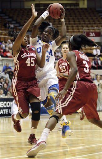 Oklahoma women beat UCLA to reach NCAA round of 16