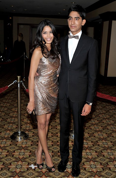 61st Annual DGA Awards 2009 Freida Pinto Dev Patel