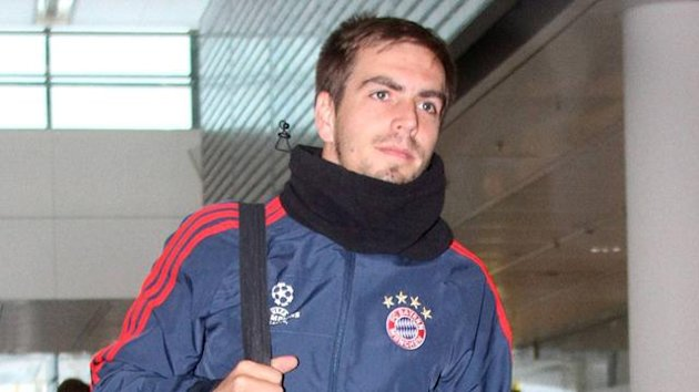 Bayern Munich captain Philipp Lahm was injured in the win over CSKA Moscow (Imago)