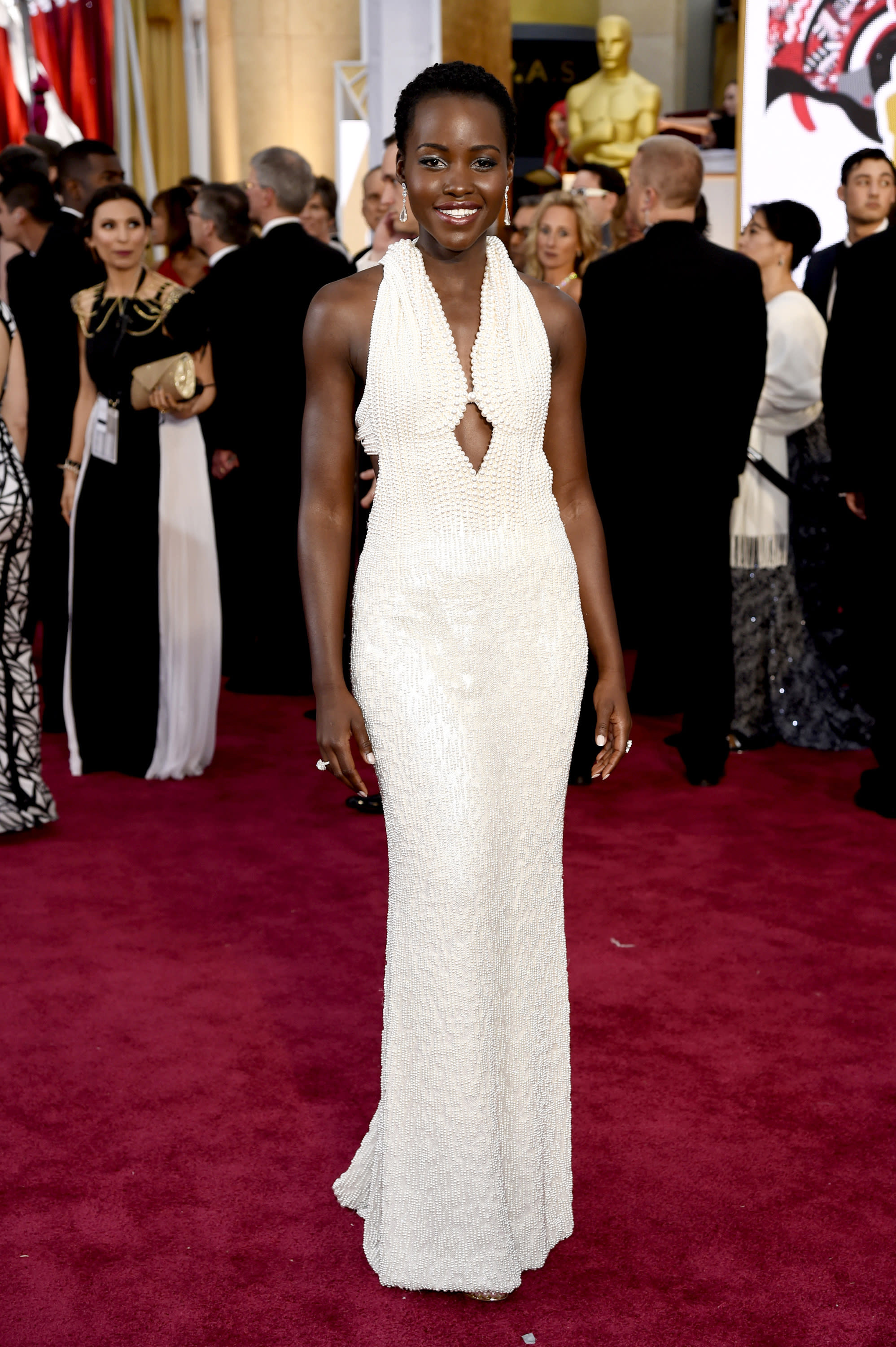 $150K dress worn by Lupita Nyong'o at Oscars reported stolen