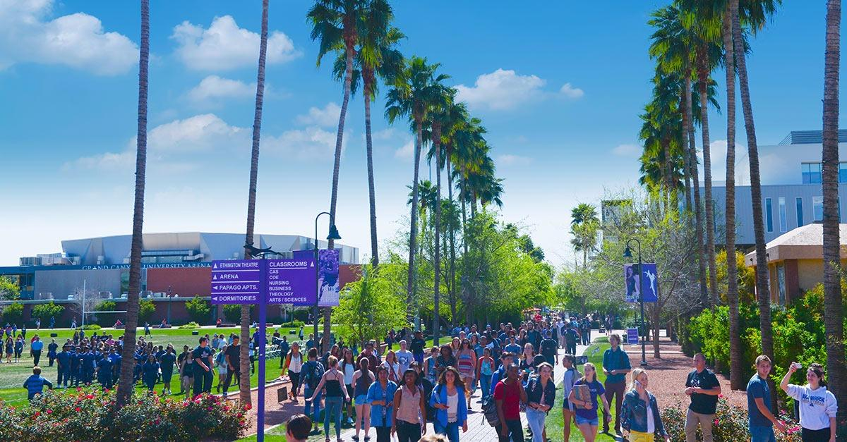 Grand Canyon University - in Phoenix since 1949